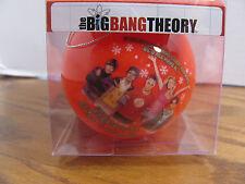 The Big Bang Theory Holiday Ornament - Cast of Big Bang Theory TV Show - 2013