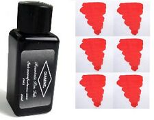 DIAMINE Fountain Pen Ink Bottle * PASSION RED * 30ml - New
