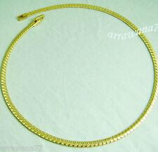 Choker Necklace Women Jewelry 5 22K Thai Baht Yellow Gp Gold