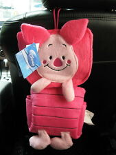 Piglet Car Hanging Tissue Box Cover Winnie the Pooh NWT