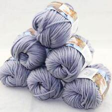 SALE Special Thick Chunky 100% Cotton Shawl Scarf Hand Knit Yarn 6 BallsX50gr 20