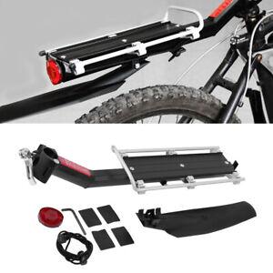 Fahrrad MTB Alu Gepäckträger für Sattelstütze Montage geeignet für Mountainbike~