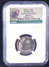 2015-S 25C Kisatchie - NGC MS67 - America the Beautiful Quarter - Early Releases