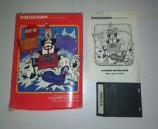 1980's Vintage THIN ICE Intellivision GAME used RARE w/ instructions & box