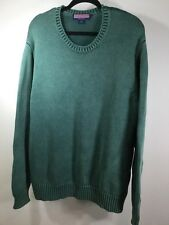 Vineyard Vines Mens XL Sweater Green Crew Neck Heavy
