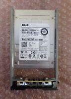 "Dell 400GB 12G SAS 2.5"" MLC Solid State Drive SSD HKK8C 13th Gen PowerEdge Caddy"
