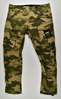 G-STAR RAW, Rovic Qane 3D Tapered, Cargohose Camouflage Berge AO Jeans W34 L36