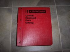 1997 Kenworth T800B T800 B Semi Tractor Truck Factory Parts Catalog Manual