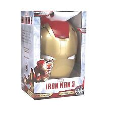 Marvel Avengers IRON MAN 3 Mask Kids Room 3D Deco Light Cracked Wall Nightlight