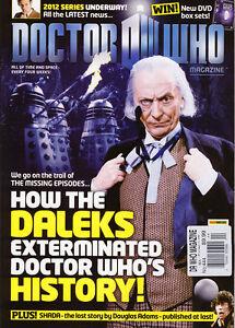 DOCTOR WHO MAGAZINE 444 NEW UK mag DOCTOR WHO ACROSS THE WORLD Shada