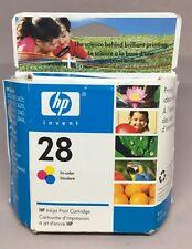 HP #28 28 tri-Color inkjet printer Ink Cartridge NEW GENUINE exp May 2007