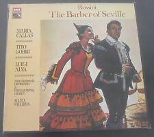 Rossini Barber Of Seville  Galliera / Callas / Gobbi   EMI HMV SLS 853 3 LP EX