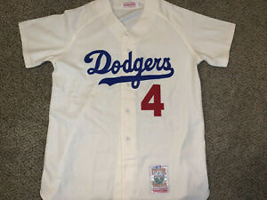 NEW AUTHENTIC VINTAGE MITCHELL NESS DUKE SNIDER JERSEY LARGE WOOL DODGERS USA