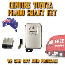 Brand New Toyota Prado 2 Button Smart Key - GENUINE - Free Postage - New
