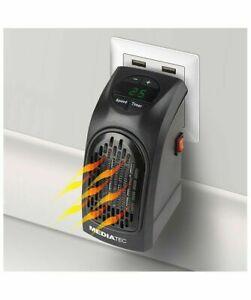 Mediatec Pocket Heater Stufa Elettrica Portatile Basso Consumo Ph-01 Handy 400 W