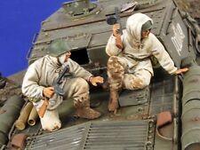 Verlinden 1/35 Russian Tank Riders Tankodesantniki Desant WWII (2 Figures) 2787