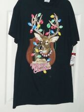 I'm dreaming of a Whitetail Christmas FRUIT OF THE LOOM  men's MEDIUM shirt  NWT