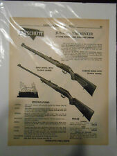 ANSCHUTZ 1958 VINTAGE 22 RIFLE ADD FROM AMERICAN GREAT GUN HOUSE NICE DEAL !!!!!