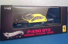 MATTEL HOT WHEELS V6683 FERRARI 430GT3 model car V ROSSI Kessel Racing 2009 1:43