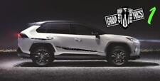 Graphics Racing Line Sticker Kit Vinyl Stripe FOR Toyota Rav4