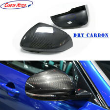 Dry Carbon Fiber Mirror Cap for Jaguar XF XE XK XJ/R Rearview Shell Cover Stick