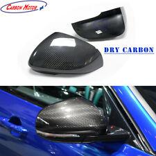 Dry Carbon Fiber Mirror Cap for Jaguar XF XE XK XJ/R Rearview Shell Cover Stick