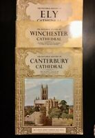 Lot of 3 Vintage Christian Books - History of 3 Cathedrals of England
