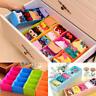 5 Gitter Organizer Aufbewahrungsbox Schublade Kisten Socken Unterwäsche Storage