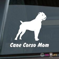 Cane Corso Mom Sticker Die Cut Vinyl V1