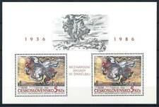 Tchécoslovaquie 1986 Mi. Bl. 68 Bloc Feuillet 100% * Peinture, Art