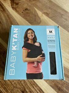 Baby K'Tan Carrier/Sling Size Medium M  Fits UK Size 12-16 Black Little Used