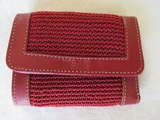Elliott Lucca The Sak Envelope Wallet Red  #8489