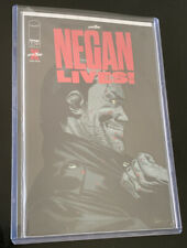 RUBY RED FOIL VARIANT WALKING DEAD NEGAN LIVES RARE AND HTF