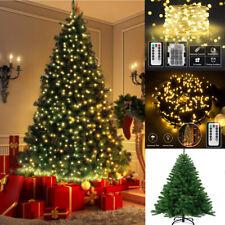 120-220cm Weihnachtsbaum Lichterkette Warmweße Kunstbaum Tannenbaum Christbaum
