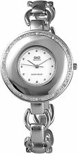 Orologio da donna Quarzo Bianco Argento Metallo Analogo Strass I-60412115006500