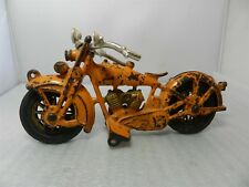 Vintage Hubley Harley Davidson Twin Engine Cast Iron Motorcycle