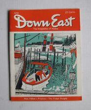 DOWN EAST Maine mag. JUNE 1955  Bon Portage Light  POLAR EXPLORER MACMILLAN