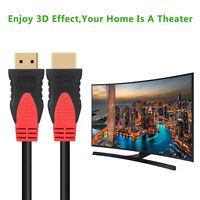 Super Speed HDMI Cable V1.4 1080P Ethernet 3D 4K x 2K Audio Return PS3 DVD / 6FT