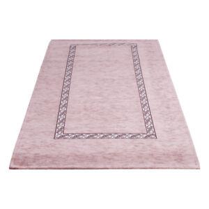 Teppich Nuage Anti-rutsch Chenille Gepflanzt Pink Wohnzimmer Bettvorleger Gummi