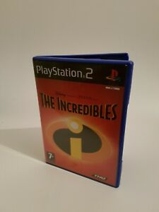 Replacement Ps2 The Incredibles Empty Case And Manual NO GAME