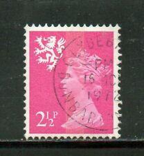 SG S14 2½p Scotland Machin - Fine Used Clydebank, Dunbartonshire CDS