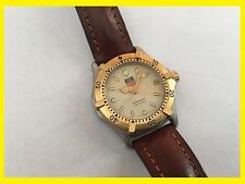 Genuine TAG Heuer 2000 series Automatic Gold / Stainless steel Watch! 665.713F