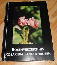 DDR   Rosenverzeichnis Rosarium Sangerhausen 1977