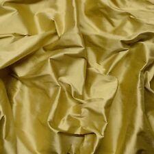 "Iridescent Kiwi Green 100% Shantung Silk Fabric 54"" Wide By The Yard (SF-144A)"