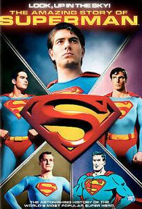 THE AMAZING STORY OF SUPERMAN DVD (Region 1, 2006) Free Post