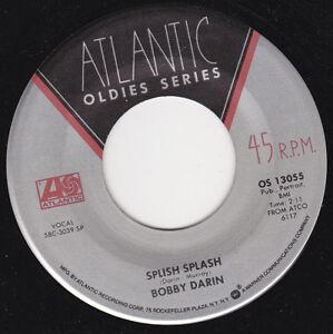 """BOBBY DARIN - Splish Splash 7"""" 45*"""