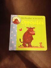 Il mio primo Gruffalo-opposti, Julia Donaldson, Alex Scheffler-Libro di bordo