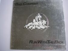 BAD COMPANY Run With The Pack UK gatefold sleeve LP 1976 ex/vg
