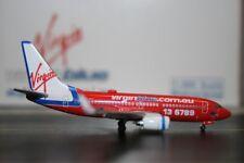 Phoenix 1:400 Virgin Blue Boeing 737-700 VH-VBH (PH4VOZ326) Die-Cast Model Plane