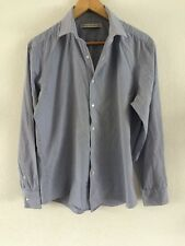"""French Connection Shirt Pinstripe Men's Size 16"""" Collar 44"""" Chest <R2479"""